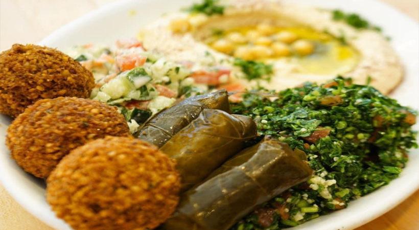 Falafel & Grill 2-820x450 Veggie Combination