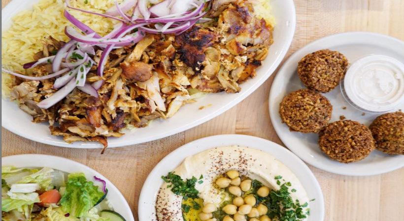 Falafel & Grill 5-820x450 Chicken shawarma Plate