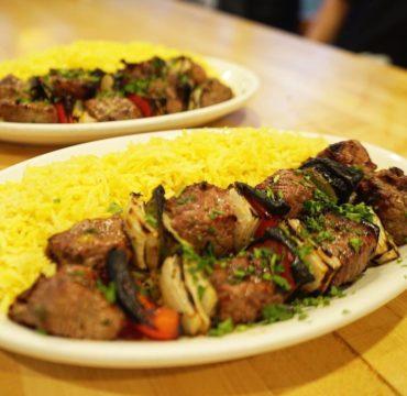 Falafel & Grill IMG_3765-370x360 Beef Kabob Plate